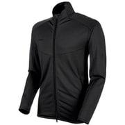 Nair ML Jacket AF Men 1014-00541 0033 black melange Lサイズ [アウトドア フリース メンズ]