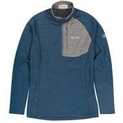 PPウールハーフジップ PP Wool Half Zip 5115852 ブルー Lサイズ [アウトドア カットソー メンズ]