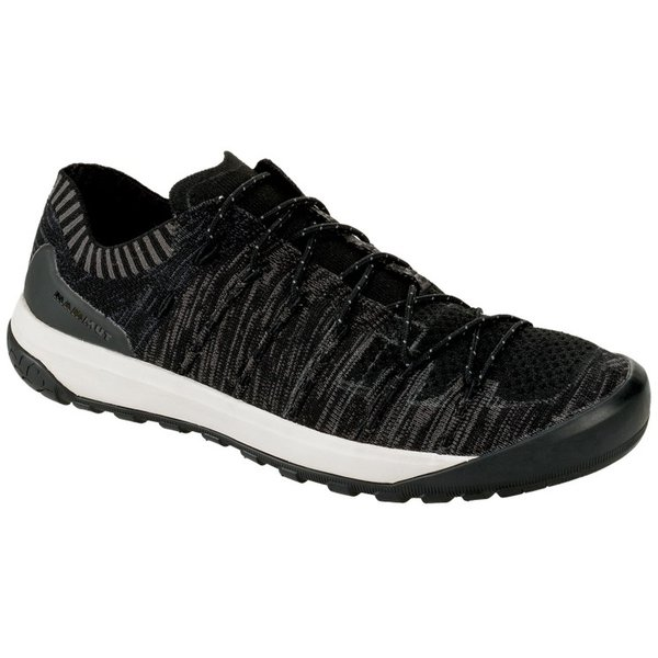 Hueco Knit Low Men 3020-06190 0486 black-titanium 8(26.5cm) [ハイキングシューズ メンズ]
