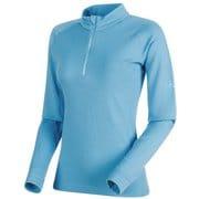 PERFORMANCE Thermal Zip long Sleeve Women 1016-00100 50037_whisper Sサイズ [アウトドア カットソー レディース]