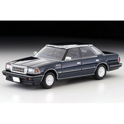 LV-N199b 1/64 トヨタ クラウン 3.0 ロイヤルサルーンG 85年式 紺 [ダイキャストミニカー]