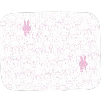 DBY-047 吸水マット ピンク オールミッフィー [キャラクターグッズ]