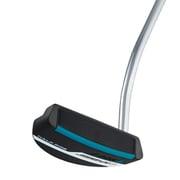 SIGMA2(シグマ2) パター HALF PIPE(ハーフパイプ) ステルス仕上げ 長さ調整機能付きモデル PP58ミッドサイズグリップ(ブラック/ブルー) [ゴルフ パター]