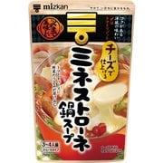 ミツカン 〆まで美味しいチーズで仕上げるミネストローネ鍋スープ ストレート 750g