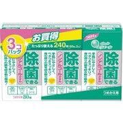 エリエール 除菌できるノンアルコールタオル詰替 80枚×3個