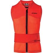 LIVE SHIELD Vest AMID M AN5205012 Red Sサイズ [スキー プロテクター メンズ]