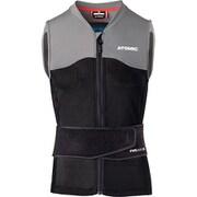 LIVE SHIELD Vest AMID M AN5205028 Black/Grey Lサイズ [スキー プロテクター メンズ]