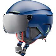 SAVOR VISOR JR AN5005724 Blue Sサイズ [ヘルメット ジュニア]