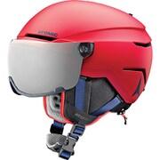 SAVOR VISOR JR AN5005722 Red Sサイズ [スキー ヘルメット ジュニア]