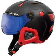 ATTELAS VISOR VHM A9091232 ブラック/レッドマット 58-62cm [ヘルメット]