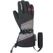 DEMI R-TEX XT 4931227767560 ブラック/グレイメランジ/セリース 6インチ [スキーグローブ]