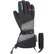 DEMI R-TEX XT 4931227767570 ブラック/グレイメランジ/セリース 7インチ [スキーグローブ]