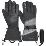DEMI R-TEX XT 4931227767870 ブラック/グレイメランジ/シルバ 7インチ [スキーグローブ]