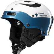 Trooper II SL MIPS 840060 Gloss White/Teal Blue LXLサイズ [スキー ヘルメット]