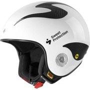 Volata WC Carbon MIPS 840066 Gloss White LXLサイズ [スキーヘルメット]