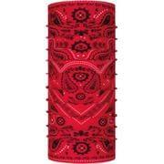 ORIGINAL BUFF 368324 PATTERNED NEW CASHMERE RED [アウトドア フェイスマスク]