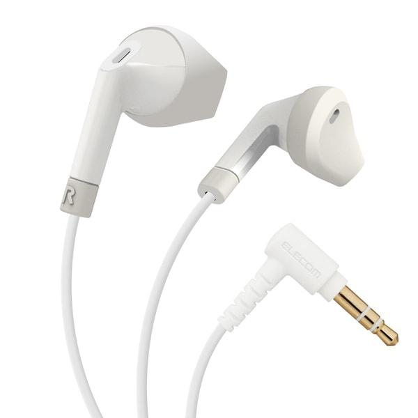 EHP-F10IAWH [ステレオヘッドホン 有線イヤホン インナーイヤー L型プラグ セミオープン型 Φ3.5 13.6mmドライバ FAST MUSIC F10IA ホワイト]