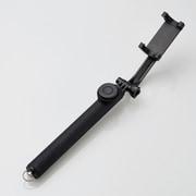 P-SSB01RBK [Bluetooth自撮り棒/回転ホルダー型/1000mm/ブラック/セルフィー]