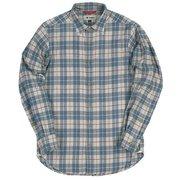TSウォームチェックシャツ 5112839 020グレー Mサイズ [アウトドア シャツ メンズ]