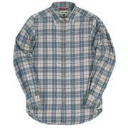 TSウォームチェックシャツ 5112839 020グレー Lサイズ [アウトドア シャツ メンズ]