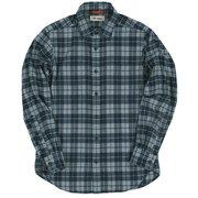 TSウォームチェックシャツ 5112839 046ネイビー XLサイズ [アウトドア シャツ メンズ]