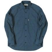 TSヘザーコーデュロイシャツ TS Heather Corduroy Shirt 5112963 ブルー XLサイズ [アウトドア シャツ メンズ]