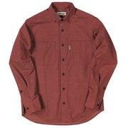 TSヘザーコーデュロイシャツ TS Heather Corduroy Shirt 5112963 レッド Lサイズ [アウトドア シャツ メンズ]
