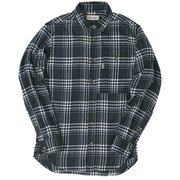 TSシンプルチェックシャツ TS Simple Check Shirt 5112981 ネイビー Lサイズ [アウトドア シャツ メンズ]