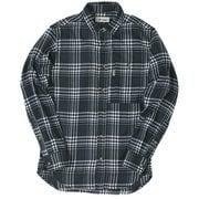 TSシンプルチェックシャツ 5112981 046ネイビー XLサイズ [アウトドア シャツ メンズ]