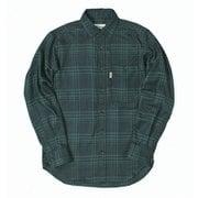 TSシンプルチェックシャツ TS Simple Check Shirt 5112981 グリーン XLサイズ [アウトドア シャツ メンズ]