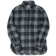 TSシンプルチェックシャツ TS Simple Check Shirt 8112939 ネイビー Mサイズ [アウトドア シャツ レディース]