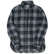 TSシンプルチェックシャツ 8112939 ネイビー XLサイズ [アウトドア シャツ レディース]