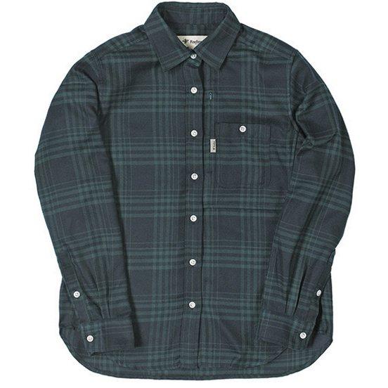 TSシンプルチェックシャツ TS Simple Check Shirt 8112939 グリーン Mサイズ [アウトドア シャツ レディース]