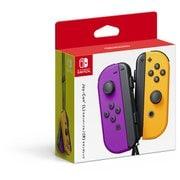 Nintendo Switch専用 Joy-Con(L) ネオンパープル/(R) ネオンオレンジ [コントローラー]