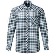 LS Tartan Shirt 421834 ブルー Mサイズ [アウトドア シャツ メンズ]