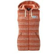 Ws Snowflake Vest 422326 O00_オレンジ XSサイズ [アウトドア ベスト レディース]