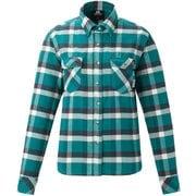 Ws Classic Mountain Shirt 422812 G03 グリーン Mサイズ [アウトドア シャツ レディース]