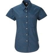 Ws SS Tartan Shirt 422809 L37 リージョンブルー Sサイズ [アウトドア シャツ レディース]