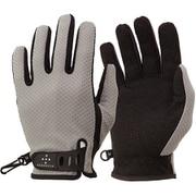 UV Mesh Glove AG6704 G01 グレイ Lサイズ [アウトドア グローブ]