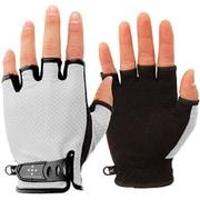 UV Mesh Finger Cut Glove AG6707 L06ライトグレイ Mサイズ [アウトドア グローブ]