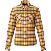Ws Classic Mountain Shirt 422818 D39 ダークイエロー Sサイズ [アウトドア シャツ レディース]