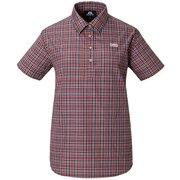 Ws SS Pullover Shirt 422824 B02 ブラック Sサイズ [アウトドア シャツ レディース]