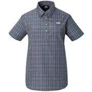 Ws SS Pullover Shirt 422824 P02 パープル Sサイズ [アウトドア シャツ レディース]