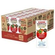 カゴメ トマトジュースプレミアム 食塩無添加 195ml×24本入り