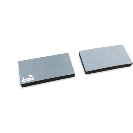 MWR/17S2-RA [FILCO Majestouch Wrist Rest Macaron 厚型17mm Sサイズ 分離型(2分割) Rainy]
