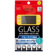 GAF-SWLGFLKBC [Switch Lite用 液晶保護ガラス 光沢ブルーライトカット]