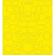 EDUEX660 ジーベル Si 204D 塗装マスクシール スペシャルホビー用 [1/48スケール 塗装マスクシール]