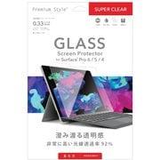 PG-SFP6GL01 [Surface Pro 6/5/4用 保護ガラス スーパークリア]