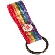 カンケン レインボー キーリング Kanken Rainbow Keyring 23622 907 Rainbow Pattern [アウトドア系アクセサリ キーリング]