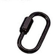 SH-B [水本 ステンレス 高級ミニチェーン用リングキャッチブラック 線径2.5mm]